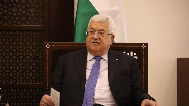 Filistin Devlet Başkanı Abbas, ABD heyetiyle barış sürecini görüştü