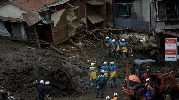 Japonya'da ölümcül heyelan sonrası çalışmalar devam ediyor