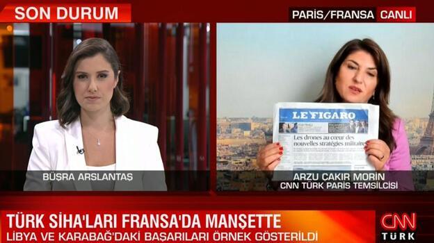 Son dakika... Türk SİHA'ları Fransa'da manşette! Böylesi ilk kez oldu