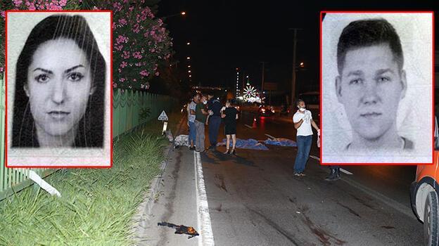 Otomobilin çarptığı 2 Polonyalı turist hayatını kaybetti