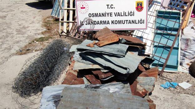 Osmaniye'de hırsızlık şüphelisi yakalandı