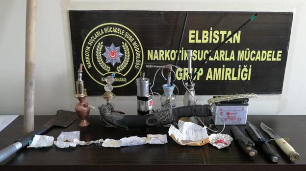 Kahramanmaraş'ta özel harekat destekli uyuşturucu operasyonu: 11 gözaltı