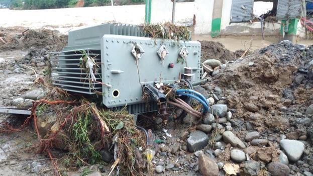'Artvin ve Rize'de 3 bin 45 abone elektriksiz kaldı'