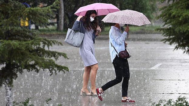 Son dakika... Meteoroloji uyardı: 5 ilde kuvvetli yağış bekleniyor