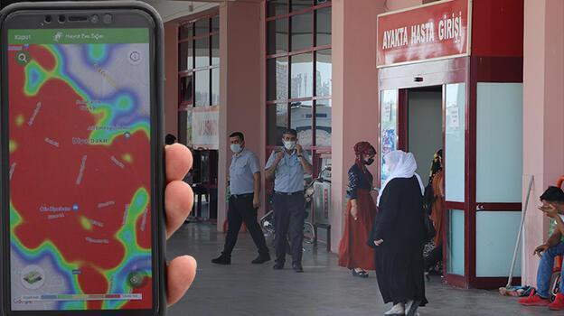 Son dakika: Diyarbakır'da harita kırmızıya döndü! Uyarı geldi...
