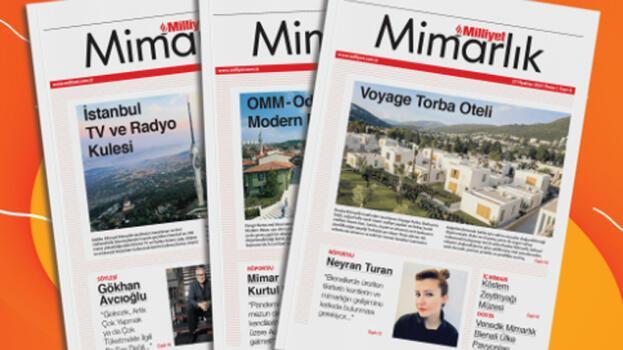 Milliyet Mimarlık dergisinin yeni sayısı çıkıyor