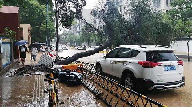 Çin felaketi yaşıyor! Meteoroloji'den yeni uyarı geldi