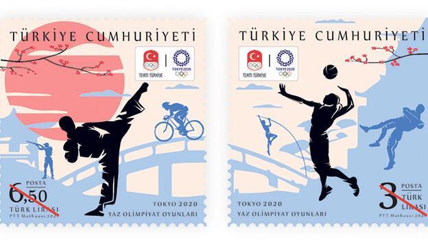 PTT olimpiyatlar için anma pulu çıkardı