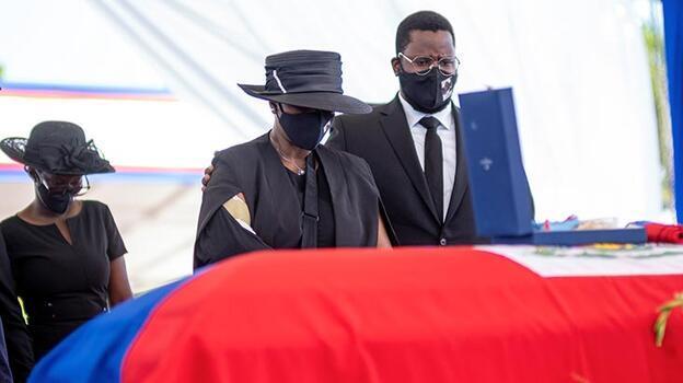 Suikast sonucu öldürülen Haiti Devlet Başkanı için cenaze töreni