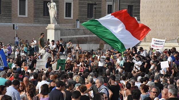 6 Ağustos'ta başlıyor! İtalya'da 'yeşil geçiş' protestosu