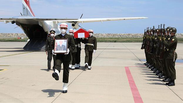 Şehit Astsubay Çavuş Fatih Güney'in cenazesi memleketi Ordu'da