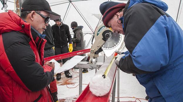 Buz tabakasının içinde 15 bin yıllık virüs keşfedildi