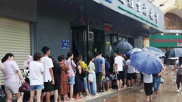 Çin'de can kaybı artıyor