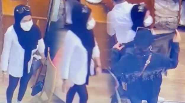 İstiklal Caddesi'nde 3 kadın turistlerin çantasını böyle çaldı