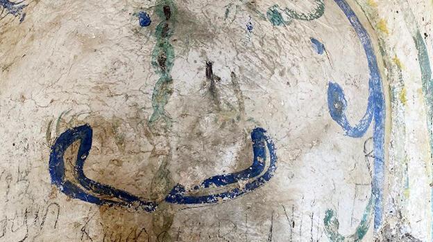 Tepki çeken görüntüler! Tarihi camide argo sözcükler...
