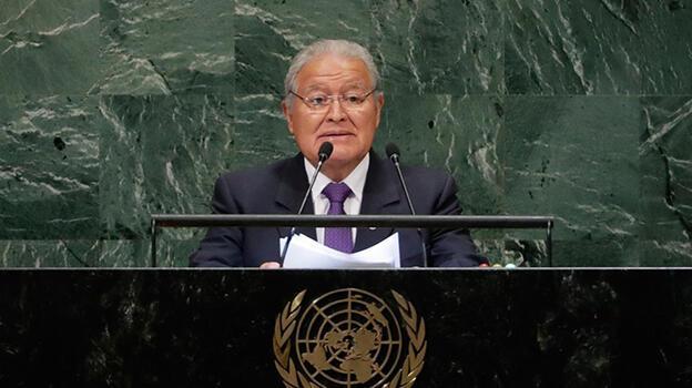 Eski El Salvador Devlet Başkanı, resmen yolsuzlukla suçlandı
