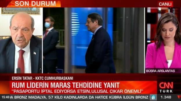 Son dakika... Ersin Tatar'dan Rum lidere 'pasaport' yanıtı! İptal ederse etsin