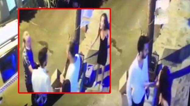 Son dakika... Çağatay Akman'dan eski sevgilisine saldırı! Yaşananlar kamerada