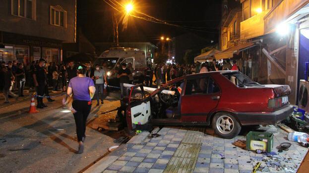 Bilecik'te feci kaza! Bir kişi öldü 5 kişi yaralandı