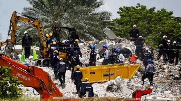 Miami'de çöken binadaki son kayıp kişi de bulundu
