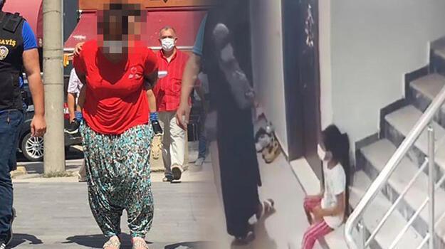 7 yaşındaki kızına gözcülük yaptırıp hırsızlık yapan kadına ev hapsi!