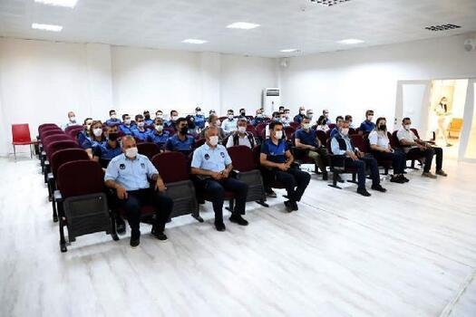Mardin'de zabıtaya iletişim ve öfke kontrolü eğitimi