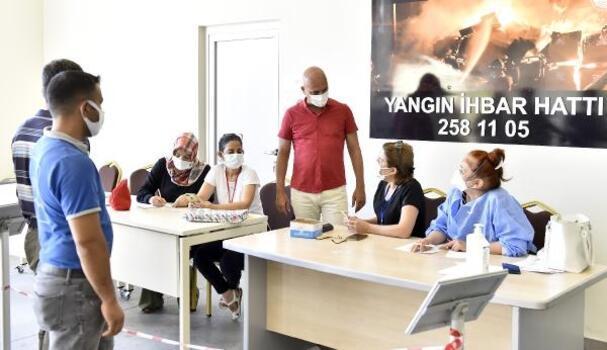 Antalya OSB'de 2'nci ve 3'ncü doz aşılama başladı