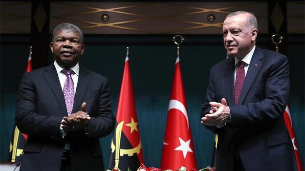 Türkiye ve Angola arasında 10 anlaşma imzalandı