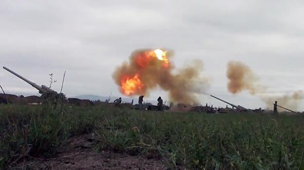 Son dakika... Dağlık Karabağ alev aldı! Ermeni askerler öldürüldü