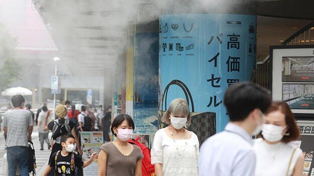 Japonya'da rekor sıcaklar nedeniyle 23 kişi hayatını kaybetti