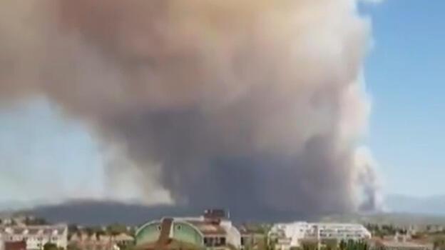 Son dakika... Antalya'da peş peşe iki yangın!