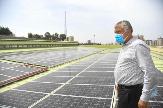 Büyükşehir'in enerjisi, temiz ve yenilenebilir kaynaklardan sağlanacak