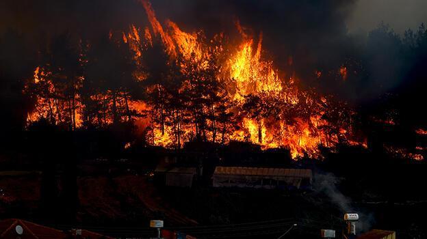 Türk Kızılayı, Manavgat'taki yangın bölgesine ekip gönderdi