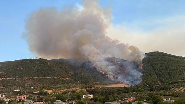 Osmaniye'de çıkan ikinci orman yangını kontrol altına alındı