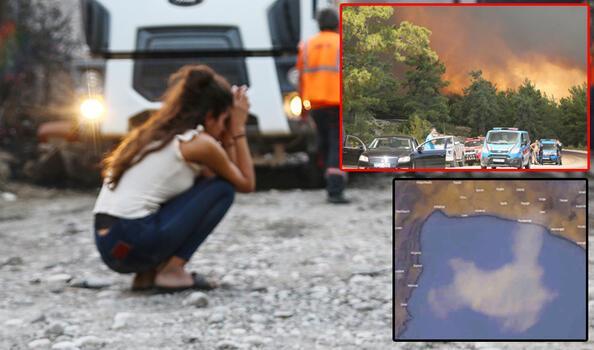Son dakika: Manavgat'ta felaket! Korkunç görüntüler geliyor
