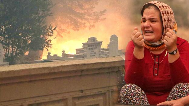 Son dakika... Manavgat'taki yangından acı haber! 1 ölü, 10 kişi mahsur