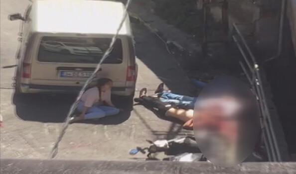 Son dakika... Beyoğlu'ndaki dünür dehşetinin görüntüleri ortaya çıktı