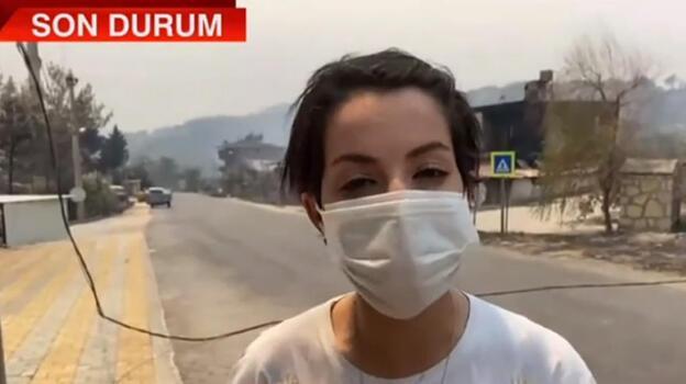 Son dakika... CNN TÜRK ekibinin Manavgat'ta korku dolu anları! 'O an öldüğümüzü düşündük'