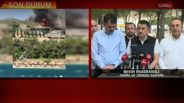 Türkiye'nin 8 ilinde orman yangını! Bakan Pakdemirli'den flaş açıklama