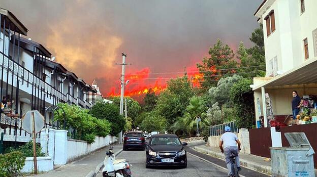 Son dakika... Marmaris'te yangın! Başsavcılık soruşturma başlattı