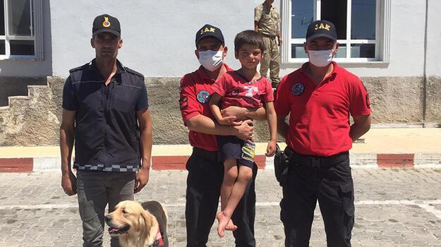 Kaybolan 5 yaşındaki Kemal, 15 saat sonra bulundu