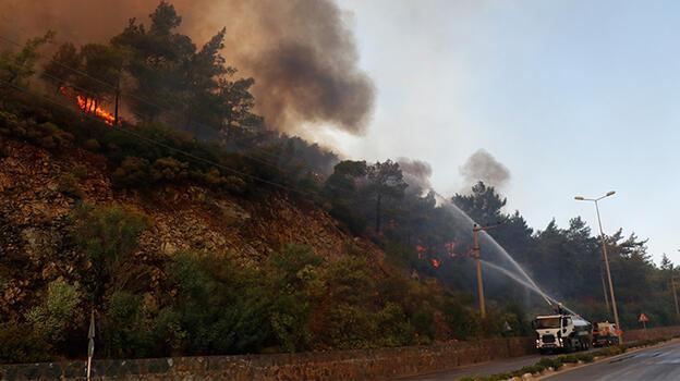 Son dakika... 71 orman yangınında 57'si kontrol altına alındı
