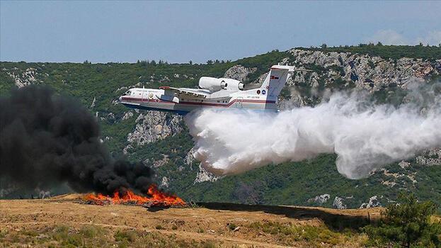 Ukrayna, Türkiye'ye 2 itfaiye uçağı ve özel ekip gönderdi!