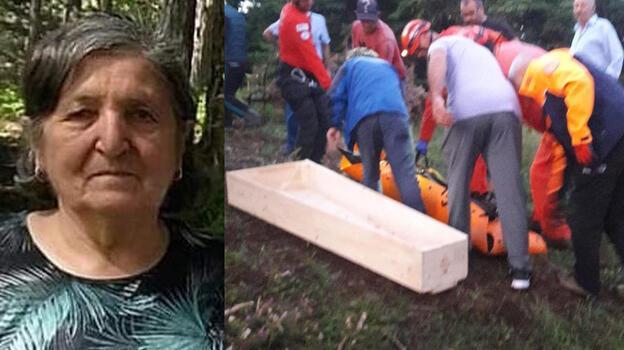 Şavşat'ta uçuruma düşen kadın, öldü