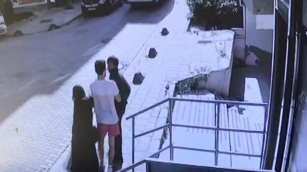 Küçükçekmece'de kadının imdat çığlığına gelen esnaf hırsızı böyle yakaladı