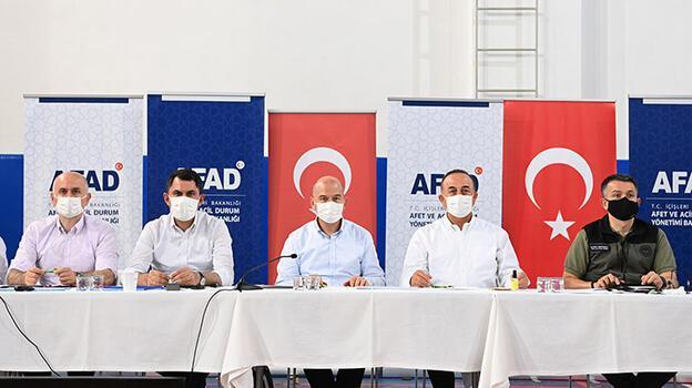 Bakanlar Antalya'da! Koordinasyon toplantısı yapıldı