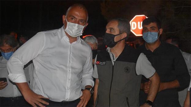 Bakan Ersoy, Marmaris'teki yangınla ilgili son durumu açıkladı
