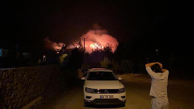 Son dakika: Muğla'nın Fethiye ilçesinde orman yangını başladı