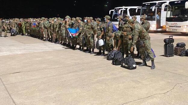 Azerbaycan'dan gelen yardım ekibi Dalaman Havalimanı'na indi