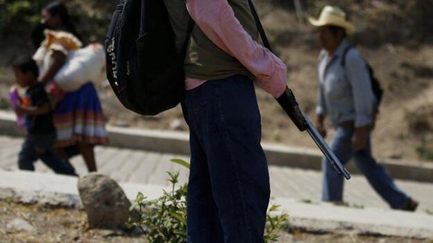 Meksika'da uyuşturucu karteli kampında infaz edilen 8 kişinin cesedi bulundu